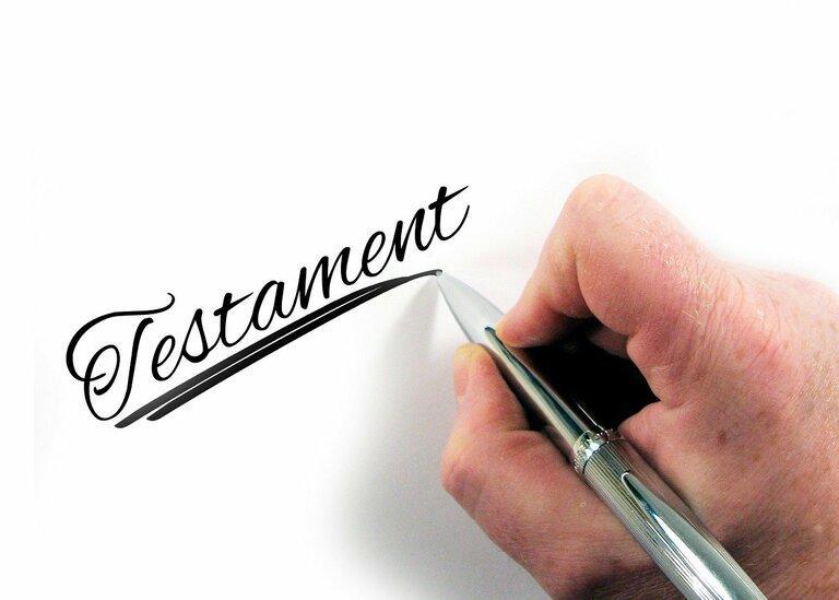 Rechtsanwaltskanzlei für Erbrecht in München - das Testament
